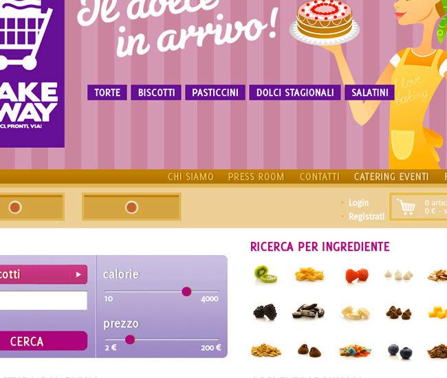 Cake Away sito
