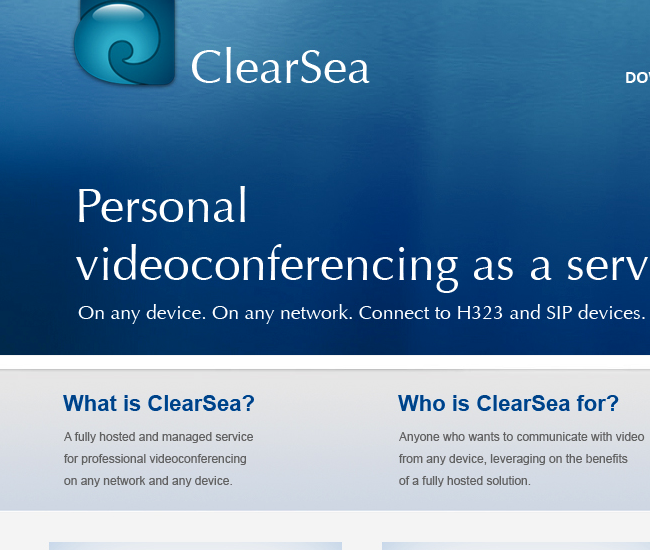 ClearSea sito