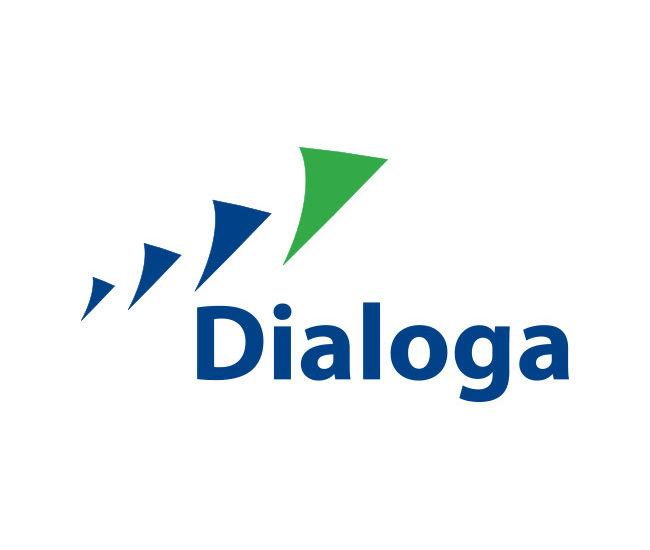 Dialoga logotipo