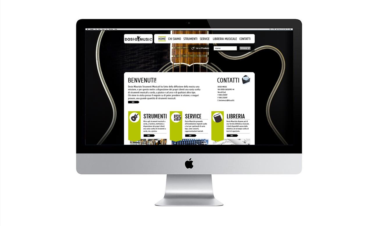 Dosio Music sito