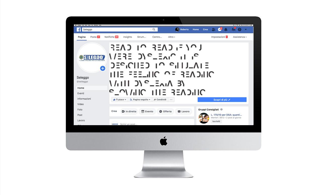 pagina Facebook Seleggo