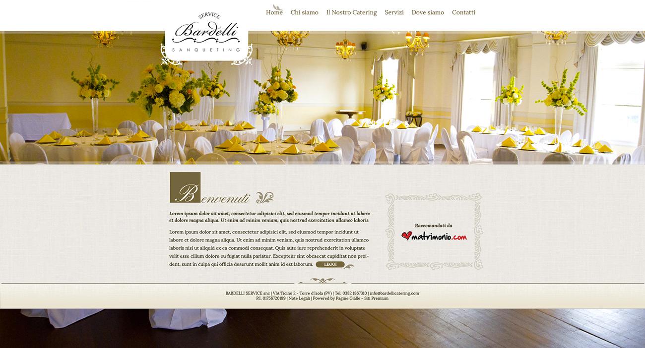 bardelli banqueting sito