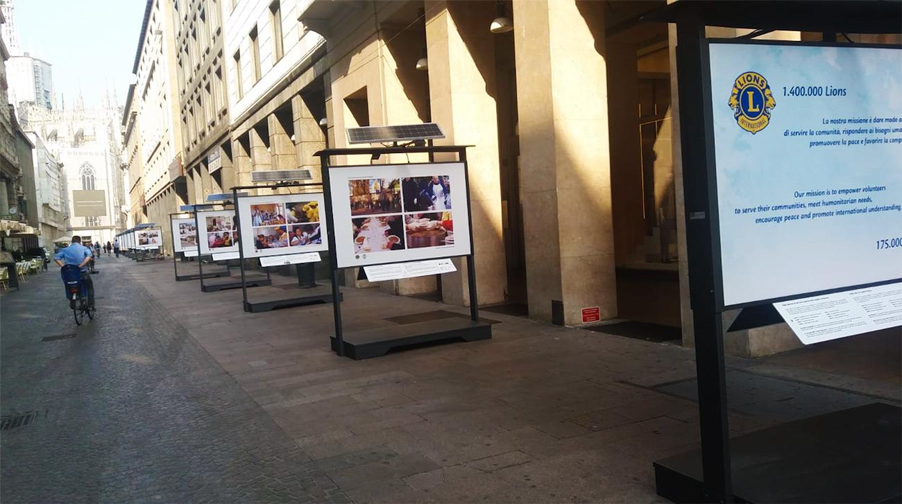 Mostra Lions Milano
